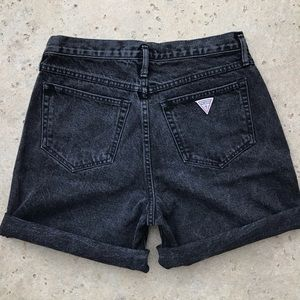 Guess by Marciano Vintage 1980's Denim Jean Shorts